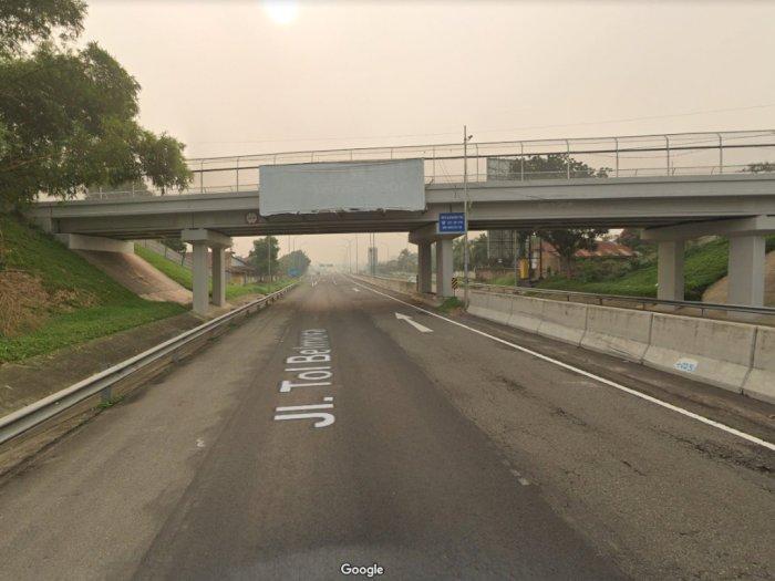 Demi Biaya Hidup, Dua Pria Ini Nekat Curi Lampu Sorot Jalan Tol Belmera