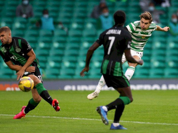 FOTO: Kualifikasi Liga Champions: Celtic 1-2 Ferencvaros