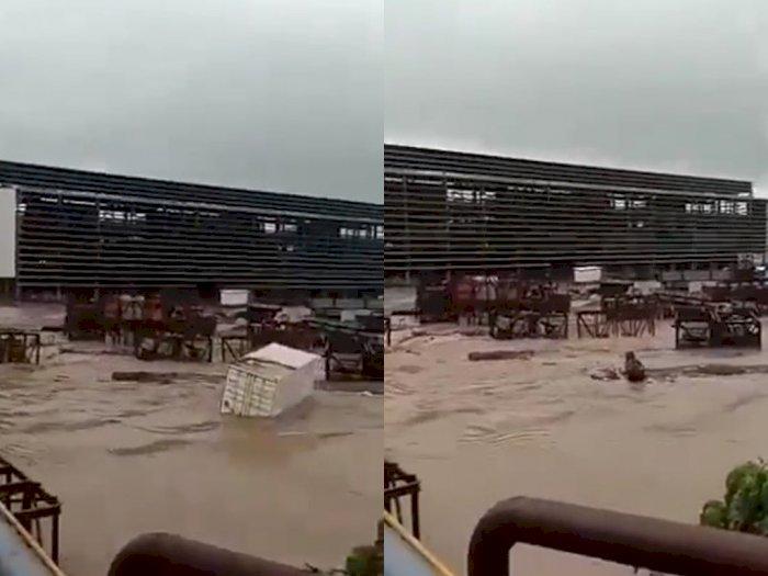 Banjir Parah Melanda Kawasan Tambang IWIP Maluku Utara, Rumah Warga Ikut Terendam