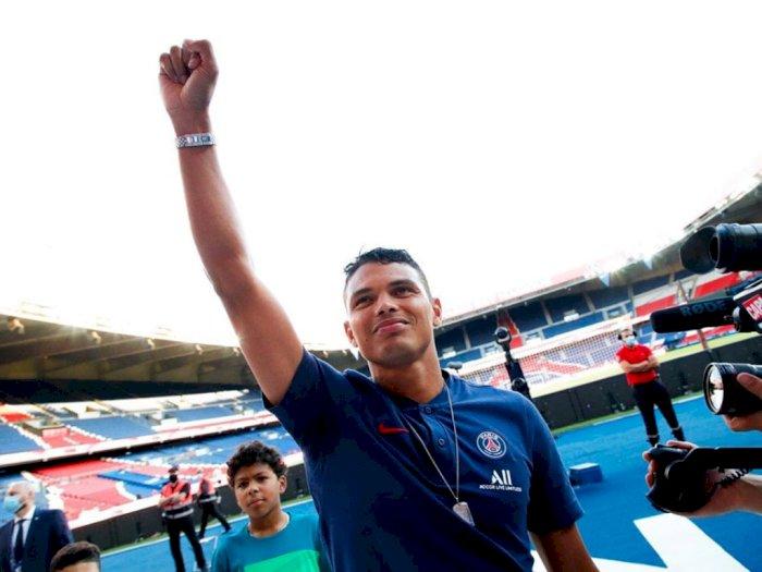 Teruntuk PSG, Terimalah Salam Perpisahan Termanis dari Thiago Silva