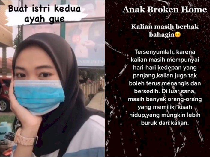 Jadi Broken Home Usai Ayahnya Pilih Wanita Lain, Gadis Ini Beri Pesan untuk Istri Kedua