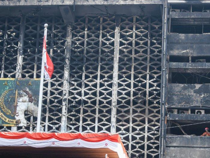 Total 99 Saksi Diperiksa Polri Terkait Terbakarnya Gedung Kejaksaan Agung