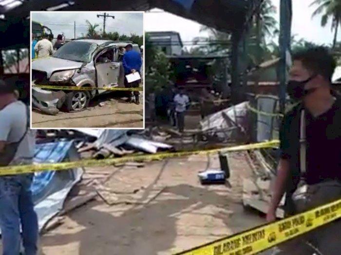 Video Tabung Gas LPG Dekat Bengkel Las Meledak di Sumut, 4 Orang Tewas dan 6 Luka-luka