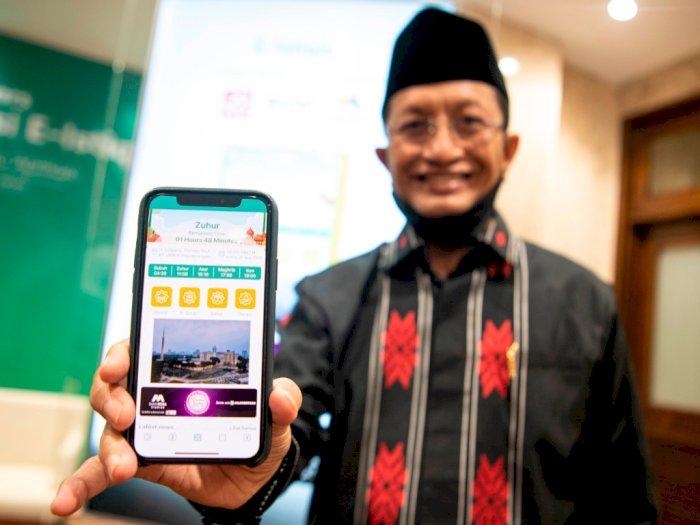 FOTO: Peluncuran Aplikasi E-Istiqlal