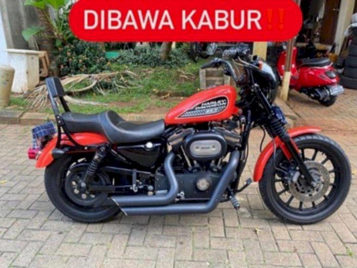 Polisi Tangkap Pencuri Motor Harley Davidson di Tangsel yang Viral