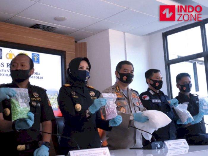 5.000 Butir Ekstasi dari Belanda Diamankan Bareskrim, Dikemas dalam Koper Gaun Pengantin