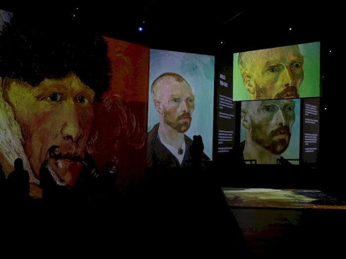 FOTO: Pameran Van Gogh Alive di Mexico City