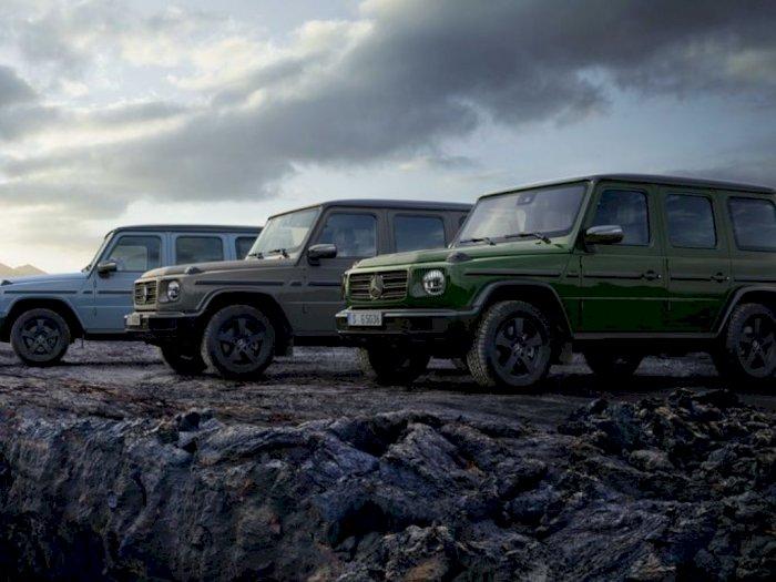 Mercedes-Benz G-Wagen 2021 Hadirkan Opsi Warna yang Lebih Beragam!