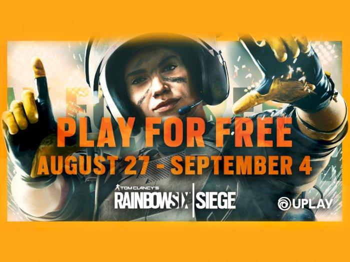 Ubisoft Kembali Gelar Event Free-Weekend untuk Rainbow Six Siege Sampai 4 September Nanti!