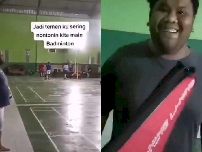 Kisah Pria yang Belikan Raket Badminton untuk Temannya, Netizen Batal Terharu karena Ini