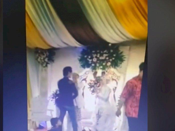 7 Tahun Pacaran, Cowok Ini Cuma Jadi Tamu di Pernikahan Mantan, Salamannya Bikin Salfok