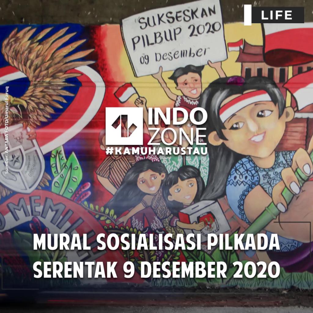 Mural Sosialisasi Pilkada 9 Desember 2020
