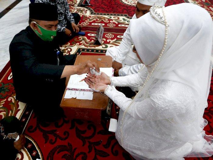 Kemenag Sumut: Jumlah Pernikahan Menurun Selama Pandemi Corona