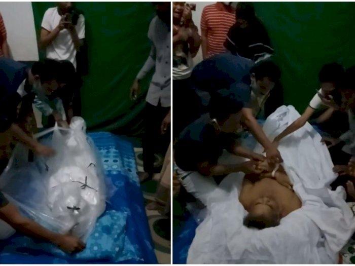 Jenazah Pasien Ginjal Dibawa Keluarganya dari Rumah Sakit karena Disebut Terpapar Covid-19