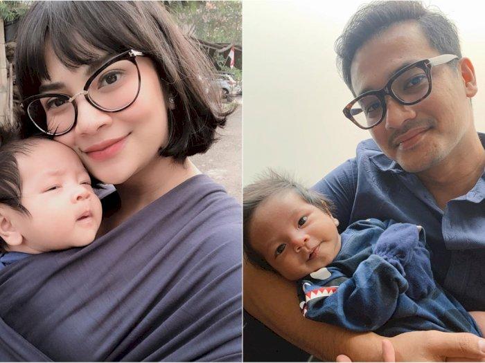 Vanessa Angel Ngomel Saat Anaknya Gumoh, Suami Malah Ngakak Dengar Ucapan Vanessa