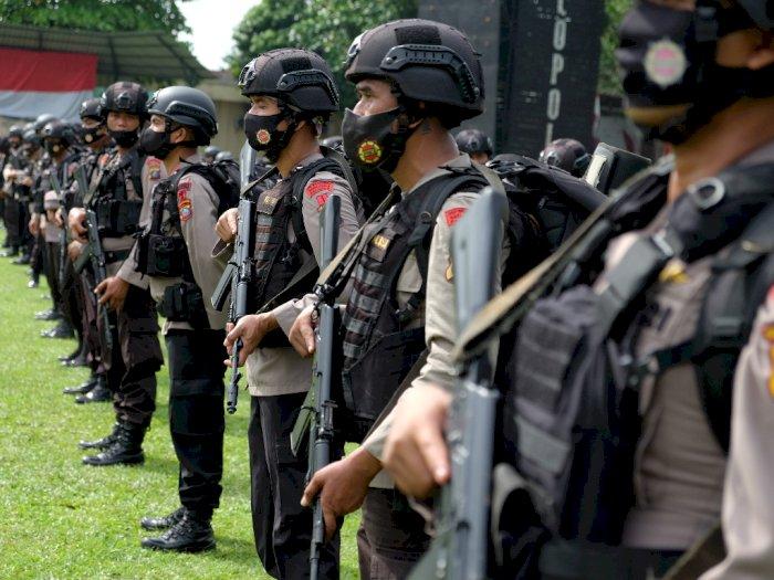 FOTO: Apel Kesiapsiagaan Jelang Pilkada di Sumut
