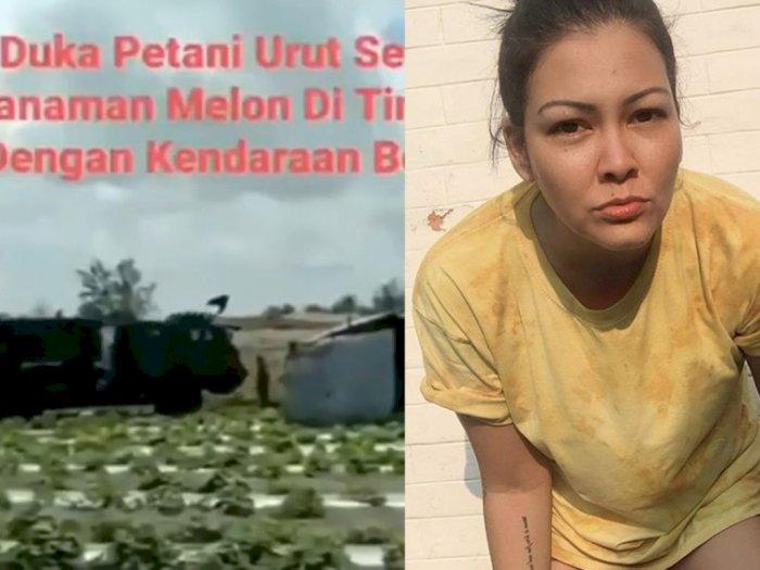 Truk TNI Lindas Ladang Petani Urutsewu, Melanie Subono: Jangan Ngomel Nanti Ditangkap