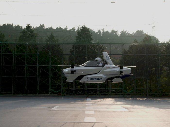 FOTO: Uji Coba Mobil Terbang di Jepang