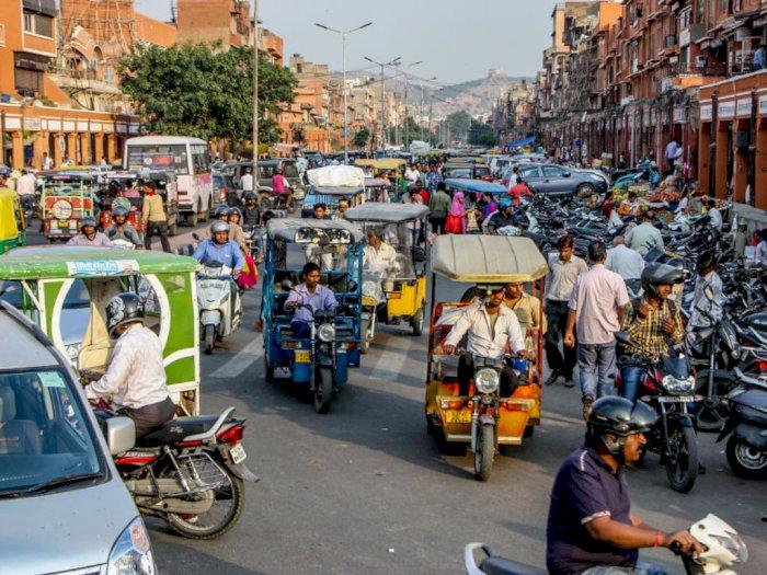 Potret Kemacetan Lalu Lintas di India, Mirip Indonesia Atau Lebih Parah?