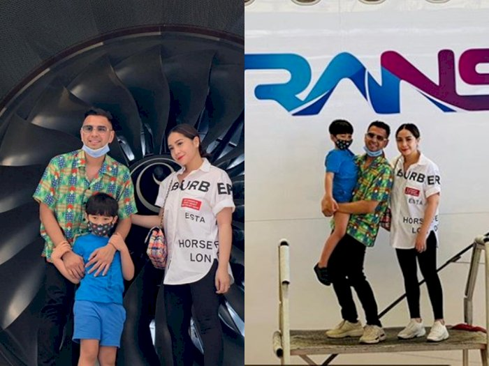 Logo RANS Milik Raffi Ahmad Terpampang di Pesawatnya, Garuda Indonesia Beri Penjelasan