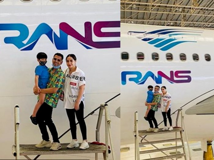 Heboh Logo RANS di Pesawat Garuda, Netizen Cari Tutorial Jadi Rafathar Anak Raffi Ahmad