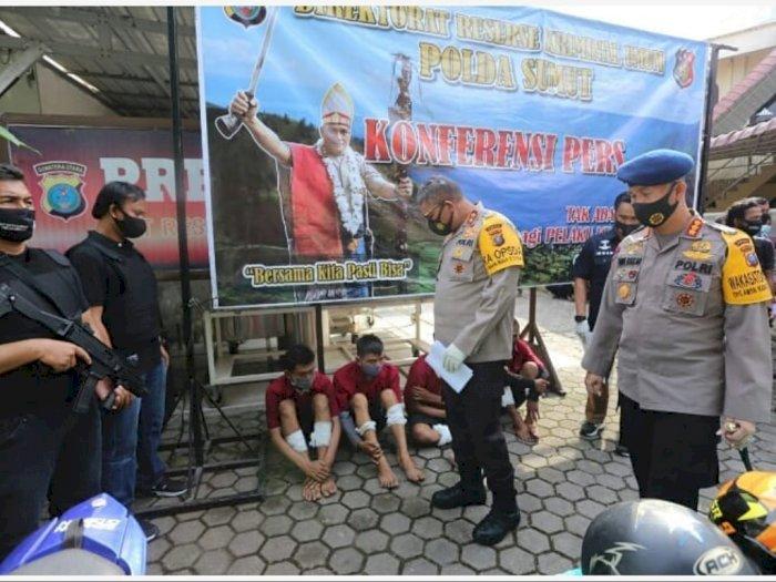 Komplotan Perampok Spesialis Nasabah Bank Ditangkap, Seorang Pelaku Ditembak Mati