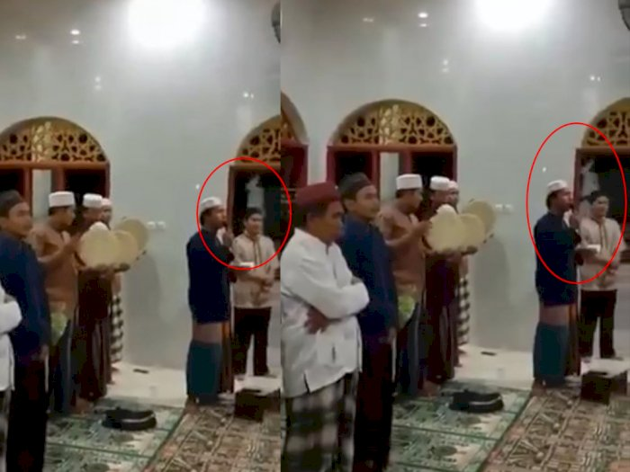 Hii Seram, Viral Video Penampakan Pocong saat Ada Selawatan di Masjid