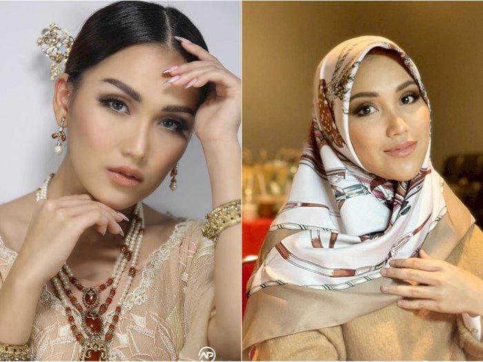 Cantiknya Ayu Ting Ting dalam Balutan Hijab yang Curi Perhatian Netizen: Adem Ngelihatnya