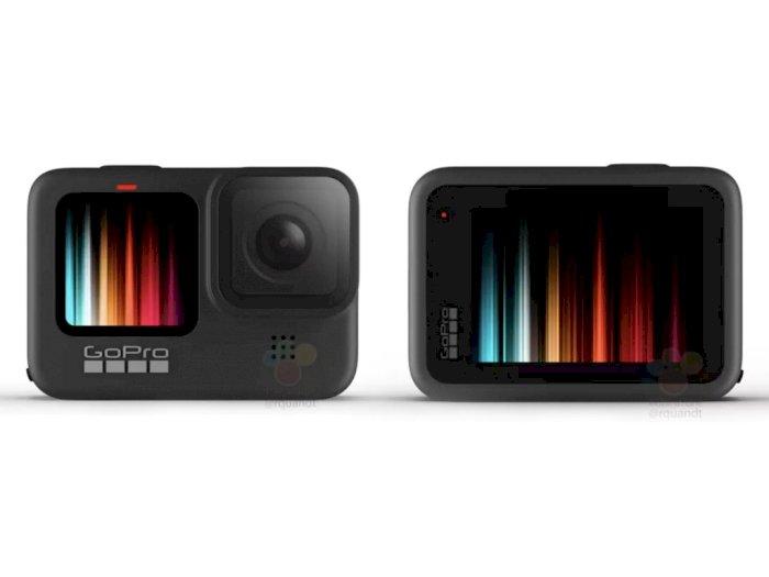 Action Cam GoPro Hero 9 Disebut Hadirkan Layar Berwarna di Bagian Depan