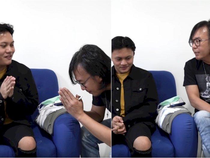 Sambil Menunduk, Ari Lasso Sampaikan Permintaan Maaf Kepada Rizky Febian, Salah Apa?