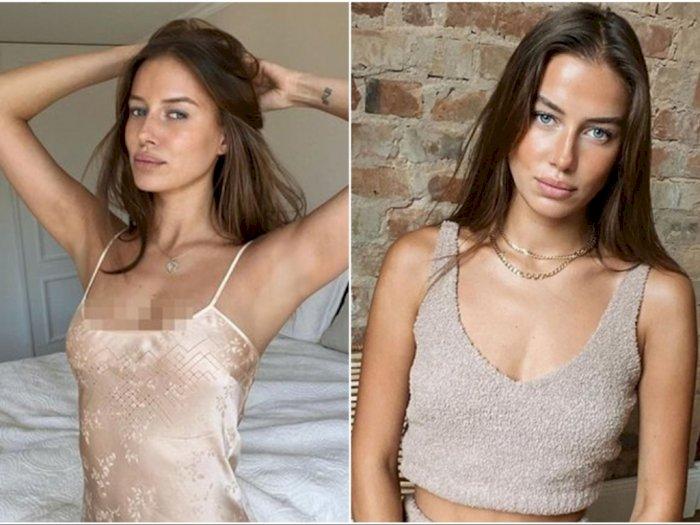 Seksinya Nicole Poturalski, Pacar Baru Brad Pitt, Model yang Ternyata Masih Istri Orang
