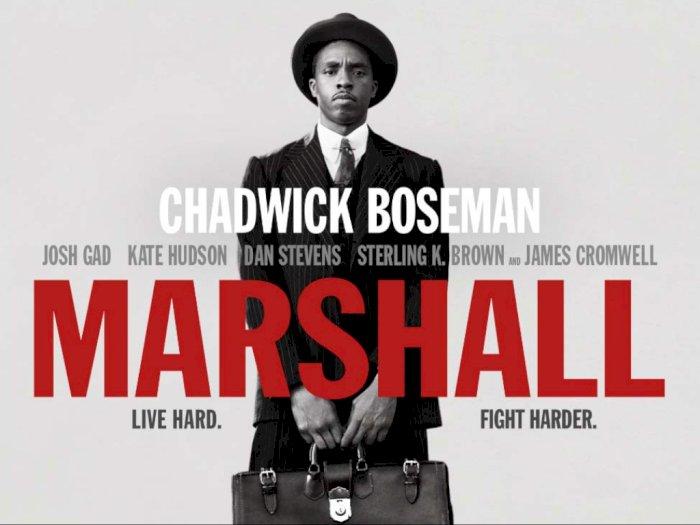 """Sinopsis """"Marshall (2017)"""" - Perjuangan Pengacara Kulit Hitam"""