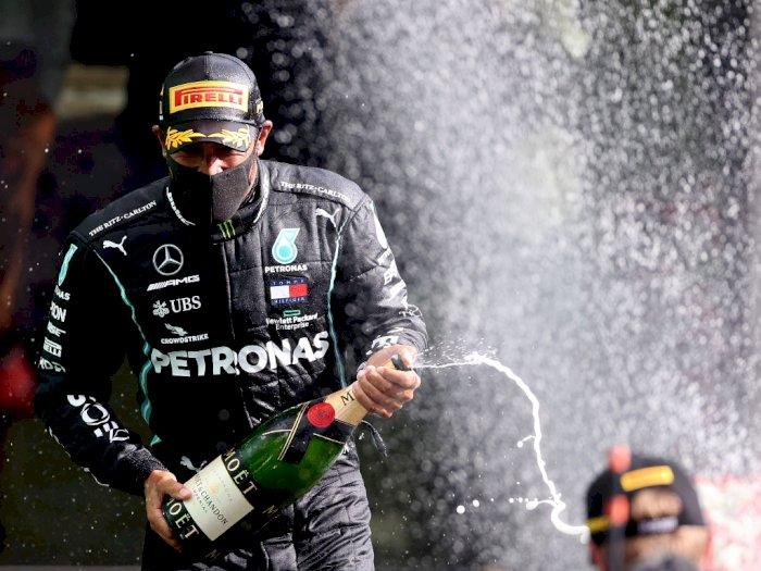 FOTO: Lewis Hamilton Memenangkan Belgian Grand Prix F1 2020