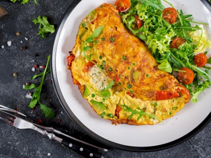 Resep Sederhana Telur Dadar Sayuran Pedas