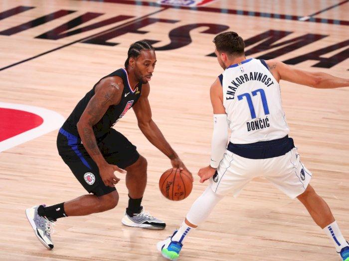 FOTO: Clippers Maju ke Semifinal NBA Wilayah Barat