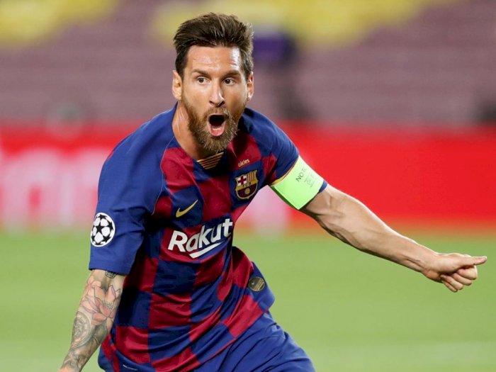 Manchester City Siapkan Kontrak 5 Tahun Untuk Messi Dengan Biaya 13T