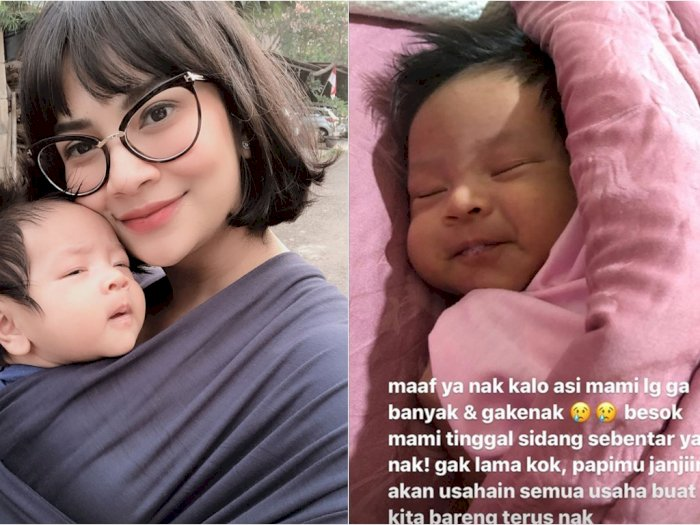 Jalani Sidang Perdana Terkait Kasus Narkoba, Vanessa Angel Minta Maaf Pada Anak