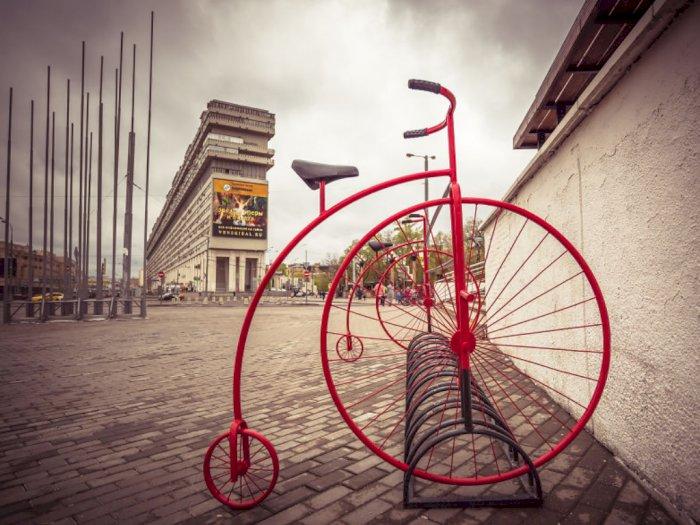 FOTO: Ragam Penampakan Sepeda di Penjuru Dunia