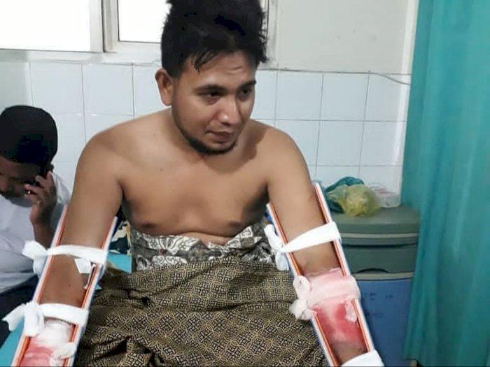 Seorang Kepala Desa di Aceh Bacok Leher Warganya Sendiri, Cuma Gara-gara Motornya Disalip