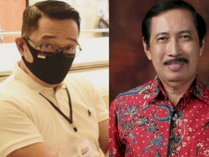 Ridwan Kamil Divaksin Produk China, Rektor Ini Bilang: Cukup Bapak Saja, Rakyat Jangan