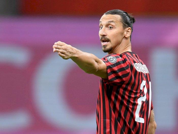 Akhiri Spekulasi, Zlatan Ibrahimovic Teken Kontrak Baru dengan AC Milan