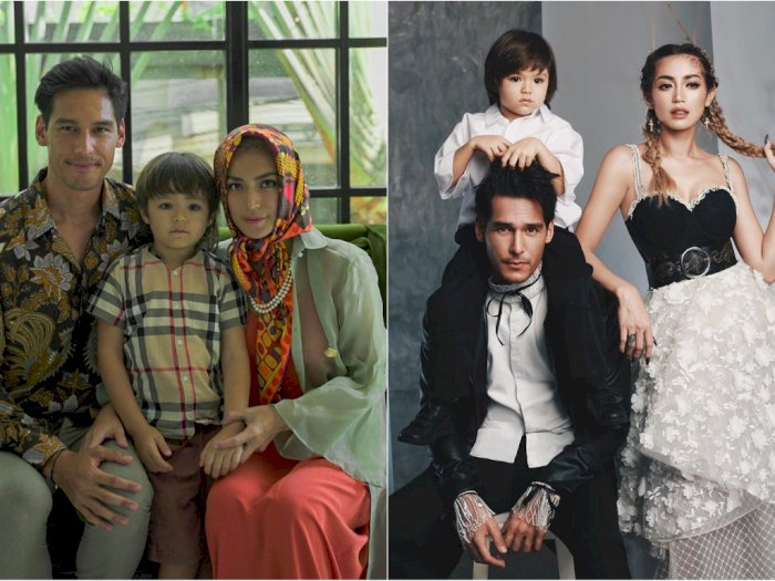 Asmara Dikabarkan Kandas, Jessica Iskandar & Richard Kylie Malah Kompak Antar Anak Sekolah