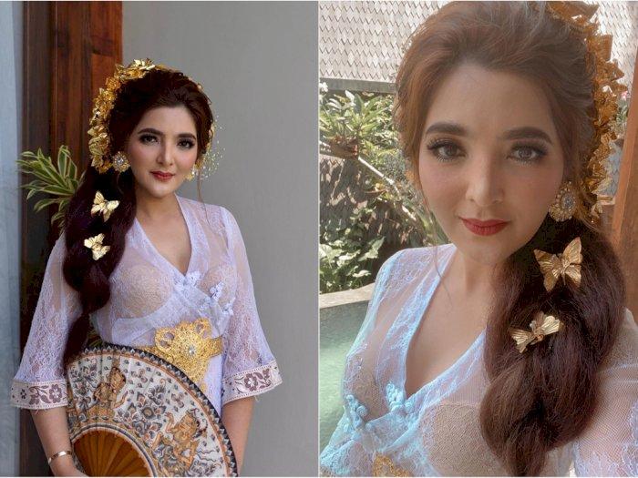 Potret Cantik Ashanty Pakai Baju Adat Bali, Dipuji Mirip Bidadari