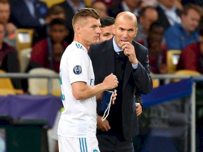 Puji Toni Kroos, Zidane: Saya Senang Jadi Pelatihnya