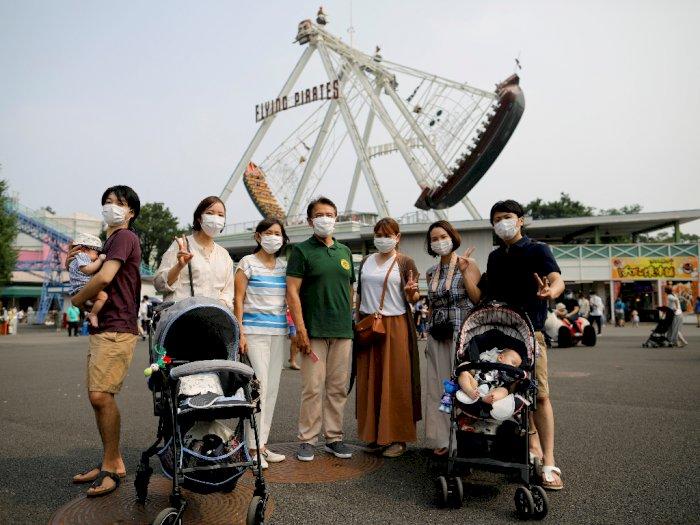 FOTO: Taman Hiburan Terbesar di Jepang Tutup