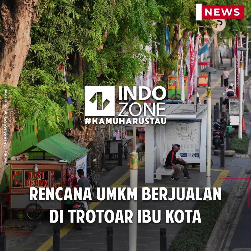 Rencana UMKM Berjualan di Trotoar Ibu Kota