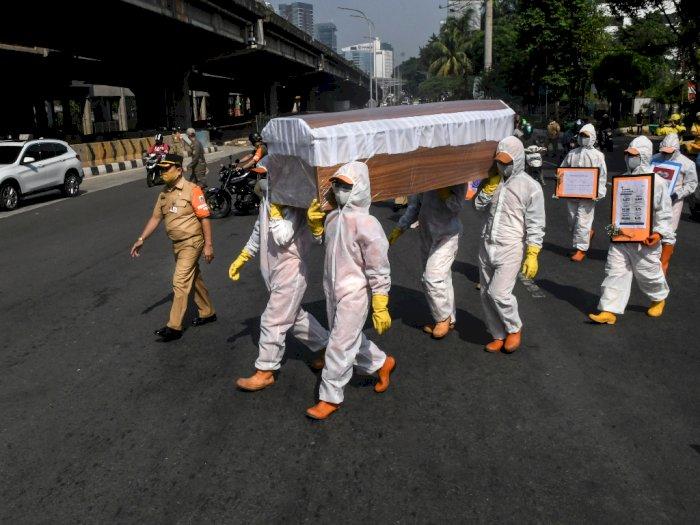 Angka Kematian Akibat COVID-19 di Indonesia Masih di Atas Rata-rata