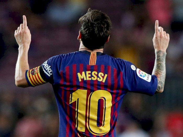 Lionel Messi dan Jersey Nomor 10 di Barcelona, Sebegitu Sakralnya!