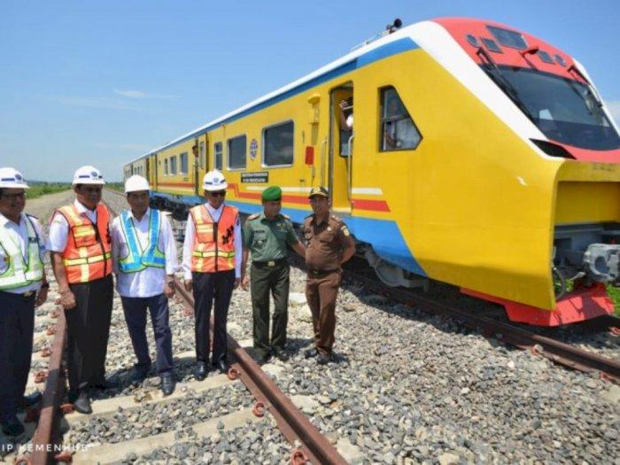 Terkait Proyek Jalur Kereta Api, Pemerintah Tak akan Rugikan Warga Soal Pembebasan Lahan