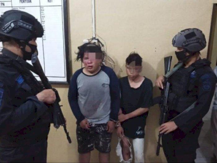 Dua Pemuda Nyaris Tewas Diamuk Massa Setelah Kedapatan Mencuri Motor